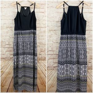 J. Crew tribal maxi dress